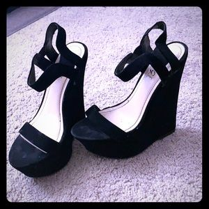 Size 6.5 Wedges-Worn once!!!